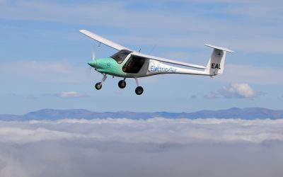 The Launch of New Zealand's First Electric Plane