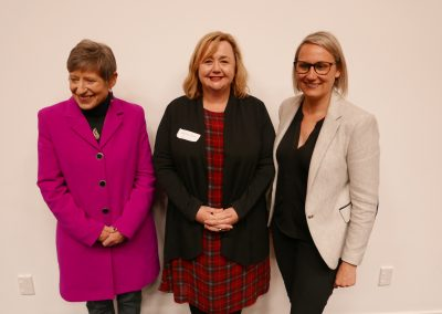 Mayor of Chch Lianne Dalziel, Megan Woods, NZ Minister of Research, Science and Innovation, Liz